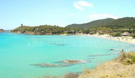 Strand Fautea Korsika